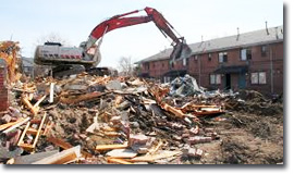 DW Mertzke Provides Demolition Services in the St.Louis MO Metro East IL Area